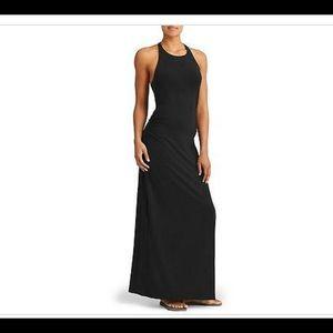 Black Athleta Serenity  maxi dress
